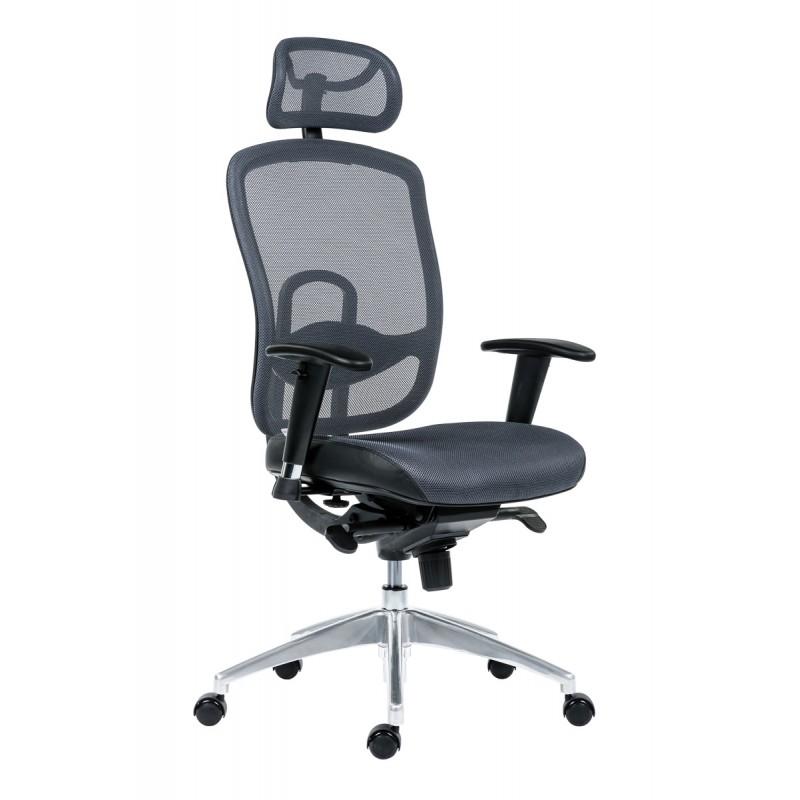 Antares Kancelářská židle Oklahoma PDH šedá
