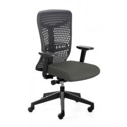 Emagra Kancelářská židle ATHENA / B s područkami, šedá