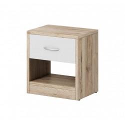 Noční stolek Izzy 1s dub...