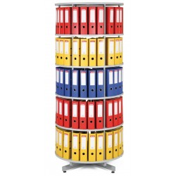 Archivační otočná skříň - 5 pater