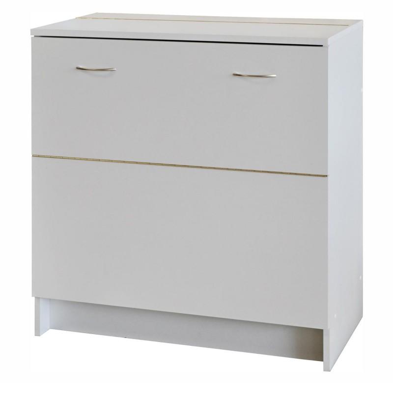 Idea nábytek Skříňka na lůžkoviny 145 bílá