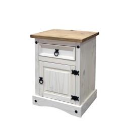 Noční stolek CORONA bílý...
