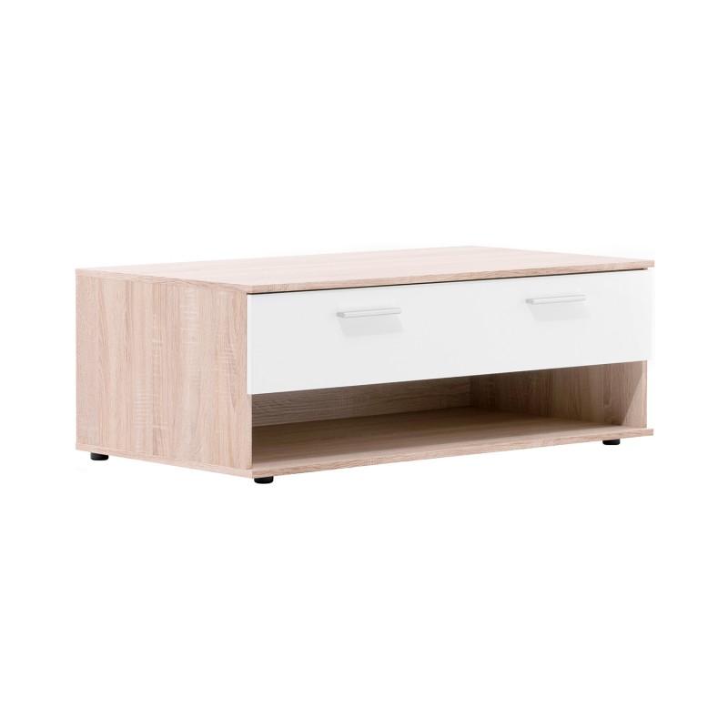 Idea nábytek Konferenční stolek LUND 54 dub/bílá