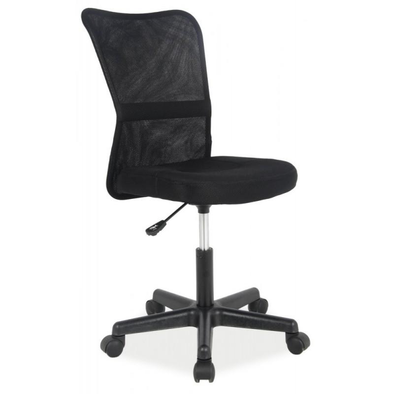 Sedia Dětská juniorská židle Q121 černá