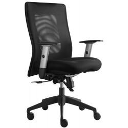 Kancelářská židle LEXA, černá