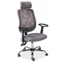 Kancelářská židle Q118, šedá