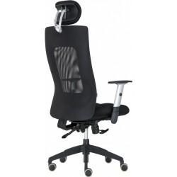 Alba Kancelářská židle LEXA XL + 3D podhlavník, antracit