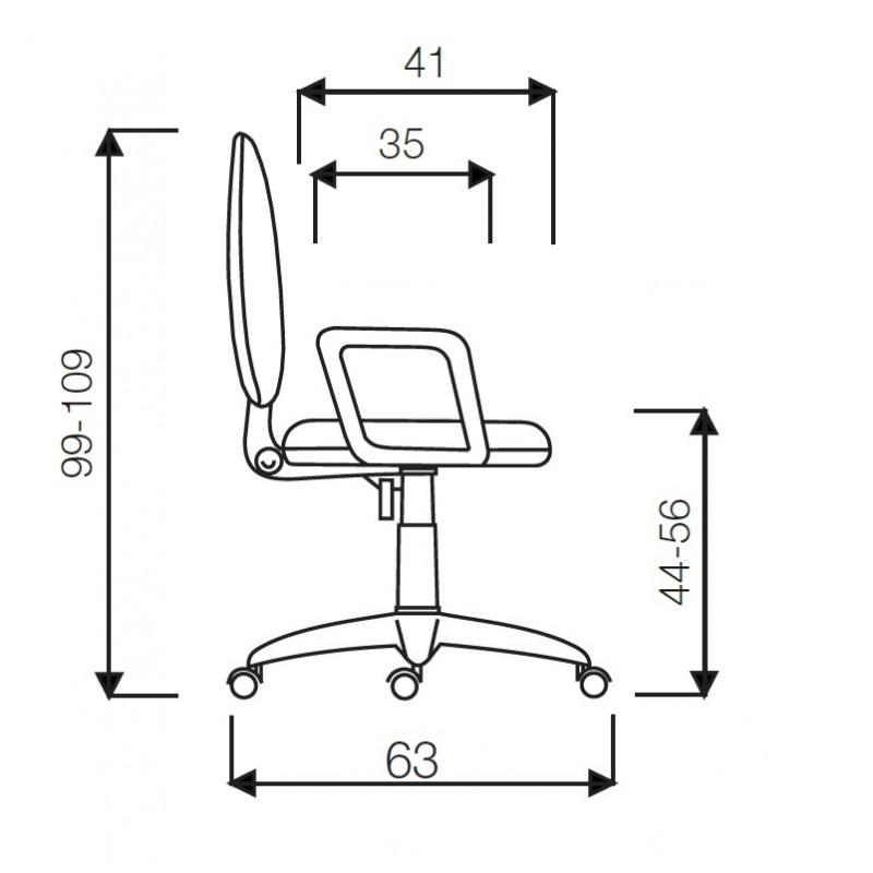 Kancelářská židle TORINO, kloub