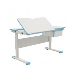 Rostoucí stůl FUXO, modrý