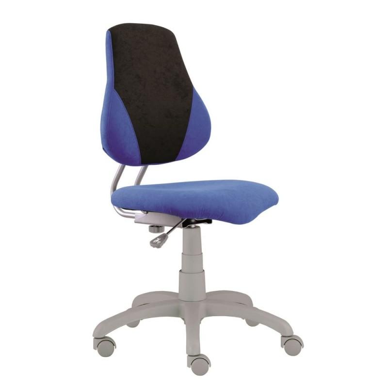 Alba Dětská rostoucí židle FUXO, modro/šedá