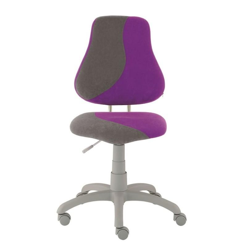 Alba Dětská rostoucí židle FUXO, fialovo/šedá