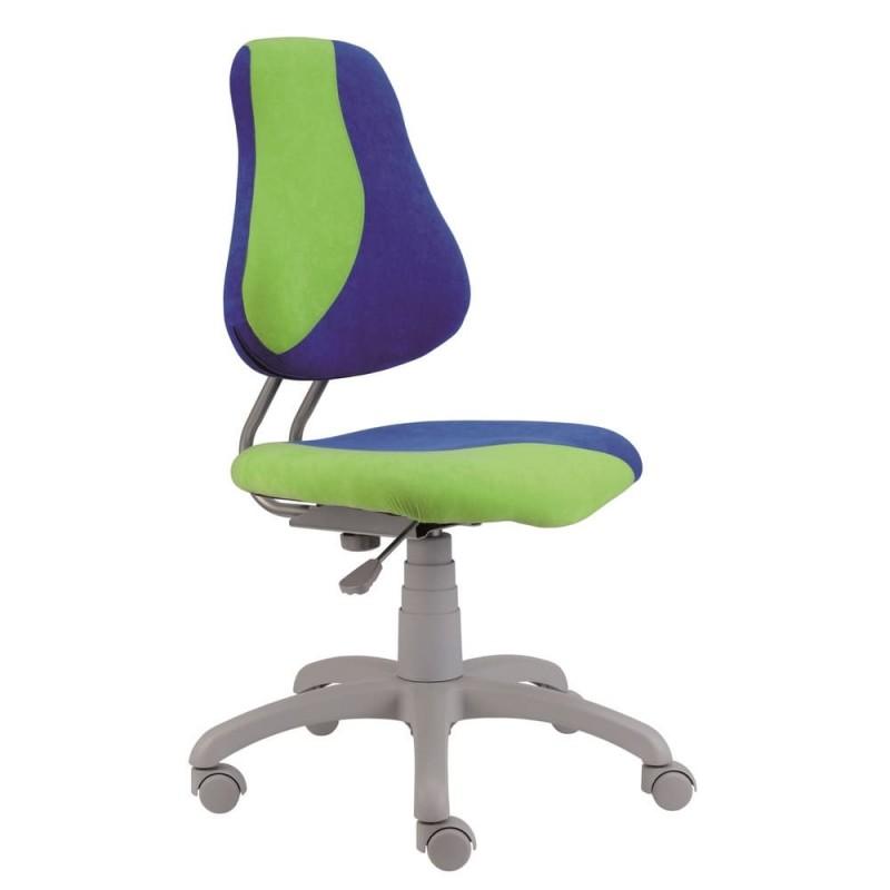 Alba Dětská rostoucí židle FUXO, zeleno/modrá