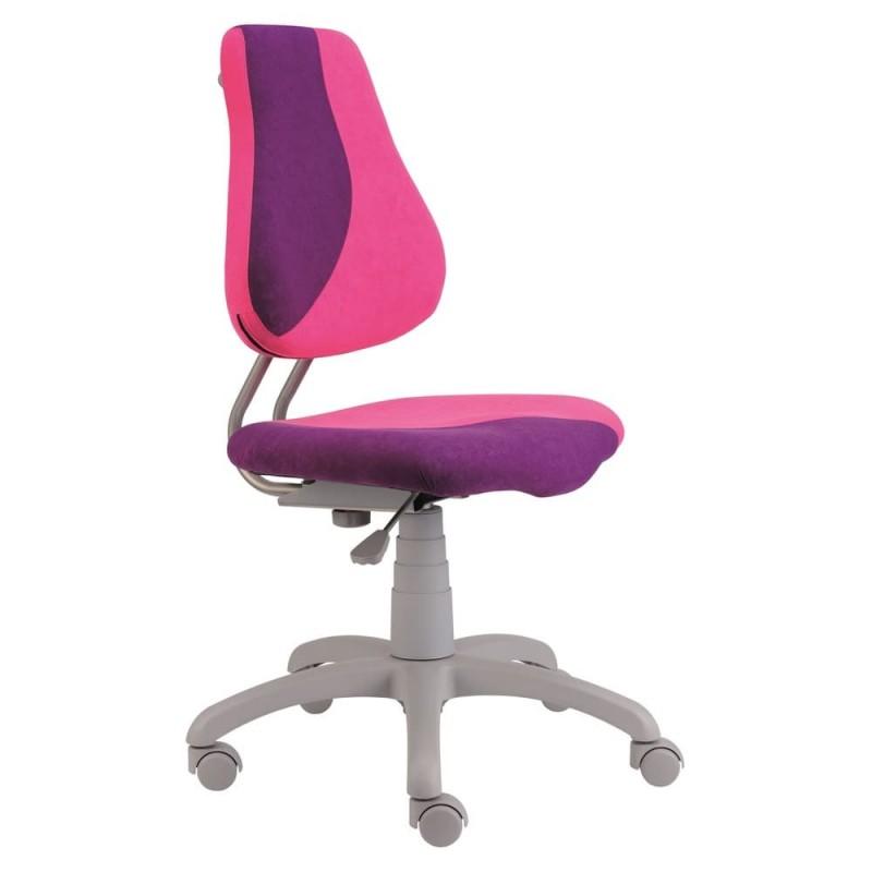 Alba Dětská rostoucí židle FUXO, růžovo/fialová