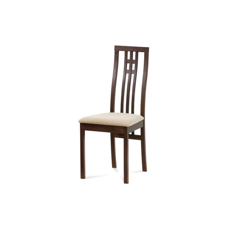 Autronic Jídelní židle BC-2482 WAL, ořech