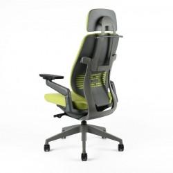 OfficePro Kancelářská židle KARME, černá