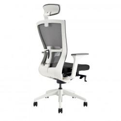 OfficePro Kancelářská židle MERENS WHITE SP, modrá