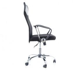 Sedia Kancelářská židle Q025 černo-oranžová PREZIDENT II