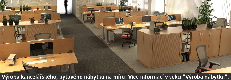 """Výroba kancelářského, bytového nábytku na míru! Více informací v sekci """"Výroba nábytku""""."""
